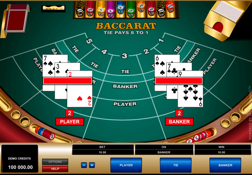 Baccarat and casino bonuses